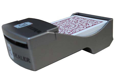 SHUFFLER Up and Deal Wheel-R-Dealer Automatic Card Dealer
