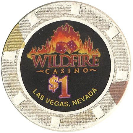 Wildfire Casino Las Vegas $1 chip