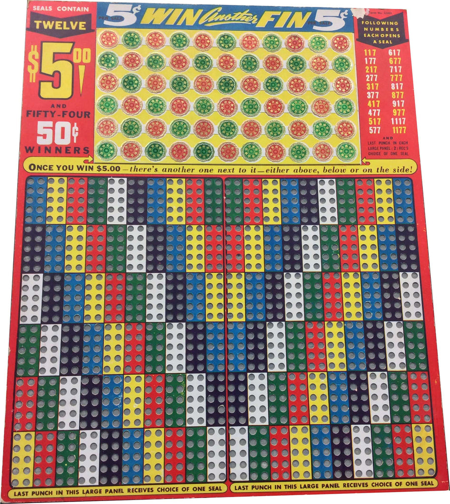 Win Another Fin Punchboard