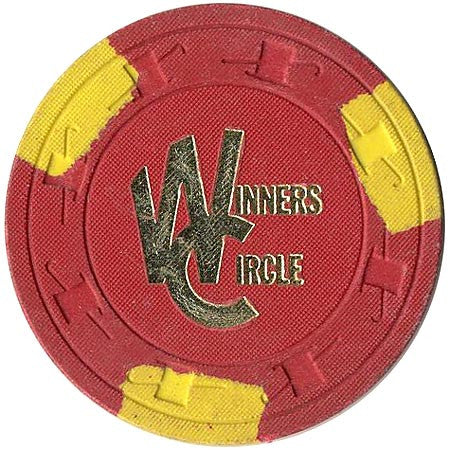 Winners Circle $5 (red) chip