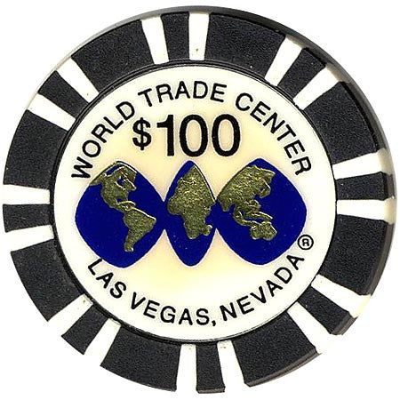 World Trade Center $100 Casino Chip