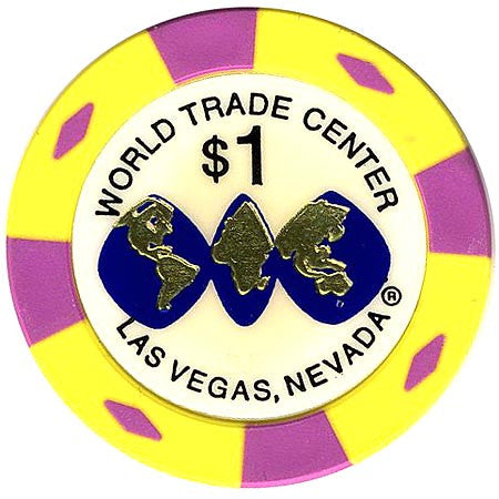 World Trade Center $1 Casino Chip