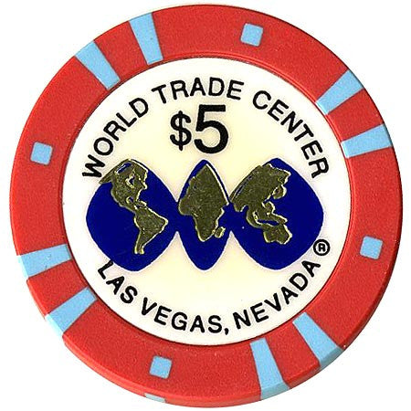 World Trade Center $5 Casino Chip