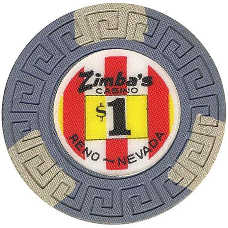Zimba's Casino Reno $1 Chip (1971)