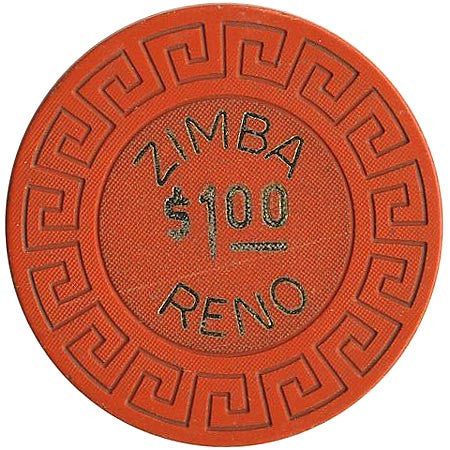 Zimba Casino Reno $1 chip (1969)