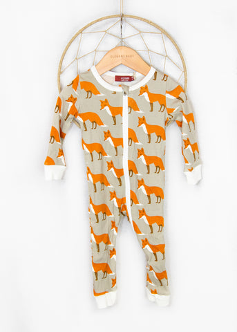 Fox Zipper PJs