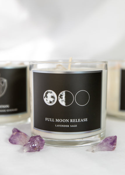 Full Moon Release Candle