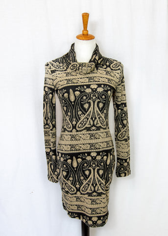 Paisley Winter Dress