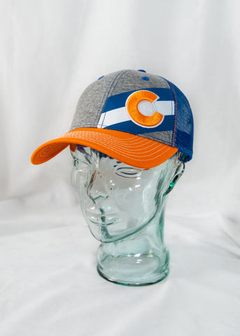 Bronco Colorado Flag Hat