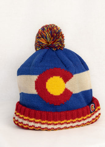 Vintage Look Colorado Flag Hat - Kids