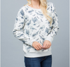 Bird Print Fashion Sweatshirt