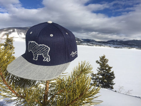 Colorado Mountain Goat | Flat brim - Skyflower Boutique