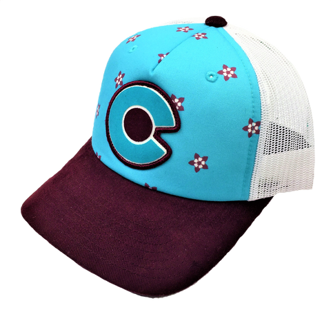 Women's Colorado Columbine Hat - Skyflower Boutique