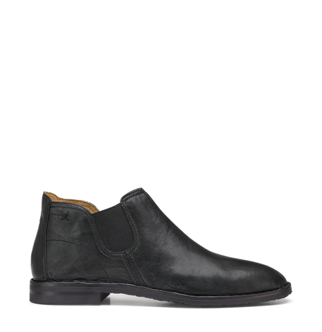 Trask Allison in Black Italian Washed Sheepskin