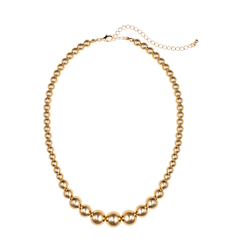 Janis Savit Gold Beaded necklace pumpz
