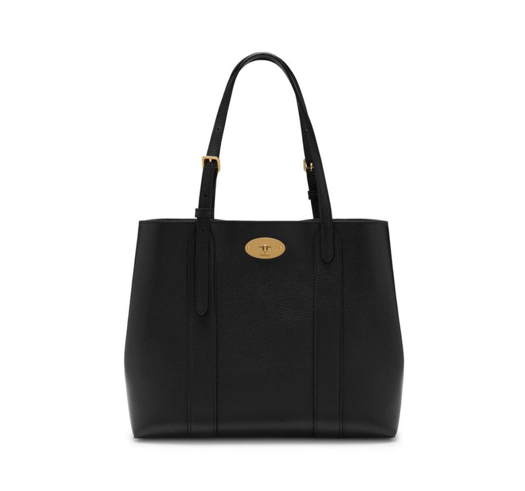 Mulberry Small Black Bayswater Tote