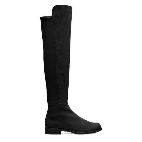 Stuart Weitzman 50 50 Boot black suede over the knee Pumpz