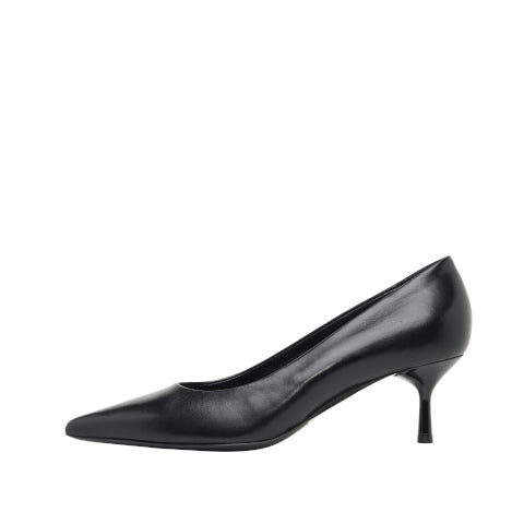 AGL Black Leather Pump