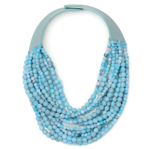Fairchild Baldwin Adriana Necklace in Cyan