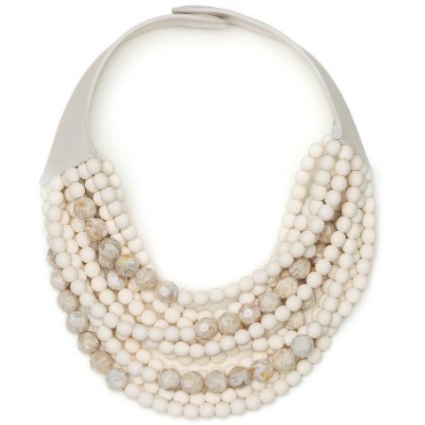 Fairchild Baldwin Marcella Necklace in Ivory and Oatmeal