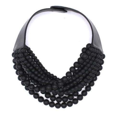 Fairchild Baldwin Chloe Necklace in Matte Black