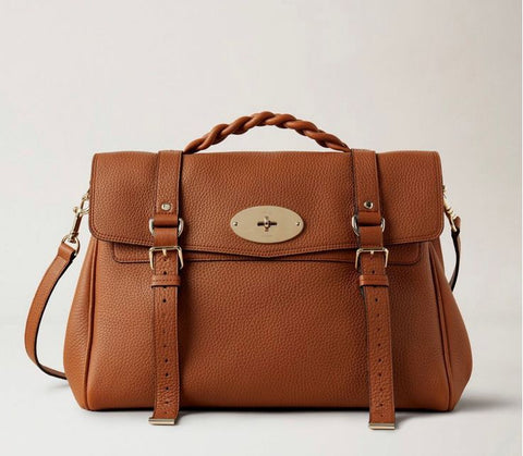 Mulberry Oversized Alexa Chestnut Pumpz