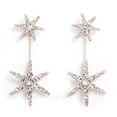 Jennifer Behr Estee Crystal Earrings