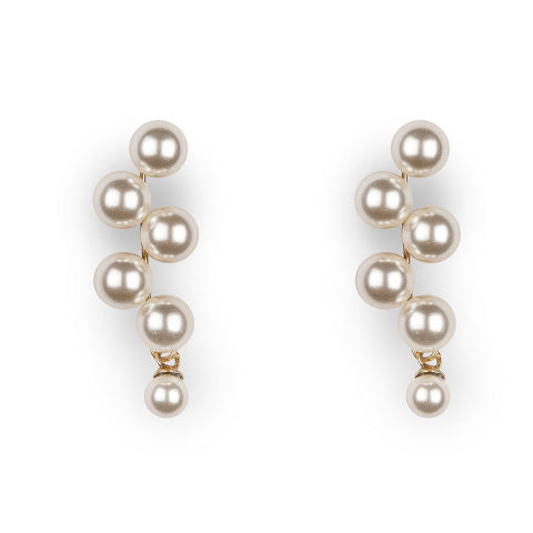 Jennifer Behr Marcella Pearl Earrings