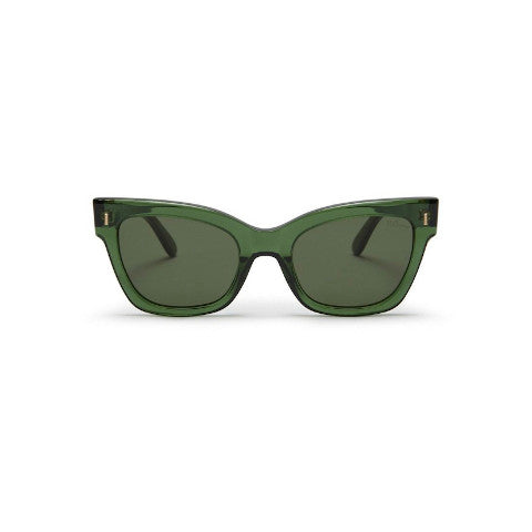 Mulberry dark green acetate Kate sunglasses Pumpz