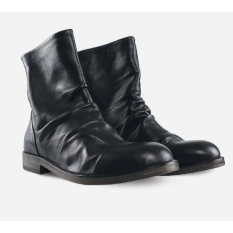 Mara Bini Black Leather Boot