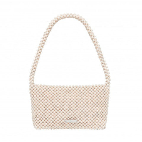 Loeffler Randall Marleigh Beaded Bag in Bone Pumpz