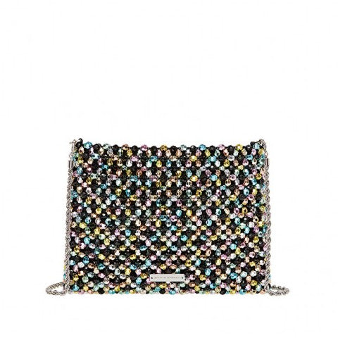 Loeffler Randall Mia Beaded Clutch Pumpz