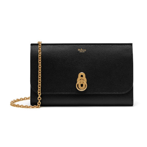 Mulberry Amberley Black Clutch