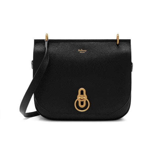 Mulberry Black Amberley Satchel
