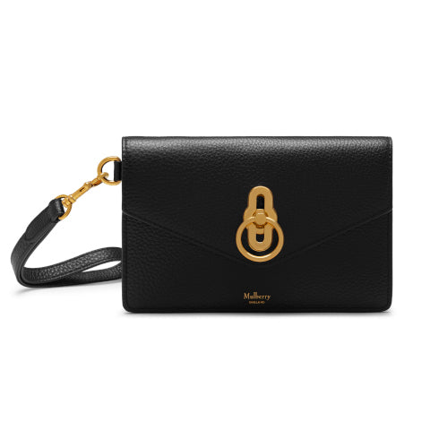 Mulberry Amberley Phone Clutch in Black