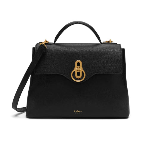 Mulberry Black Small Seaton