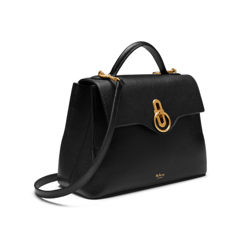 Mulberry Black Small Seaton Handbag