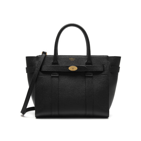 Mulberry Black Small Zipped Bayswater Handbag