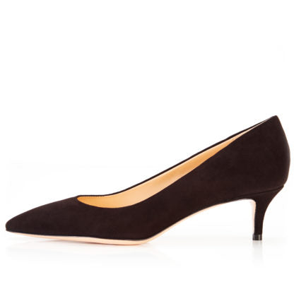 Marion Parke Must Have 45 Black Suede