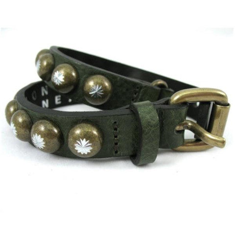 Ronald Pineau Wrap Bracelet in Khaki