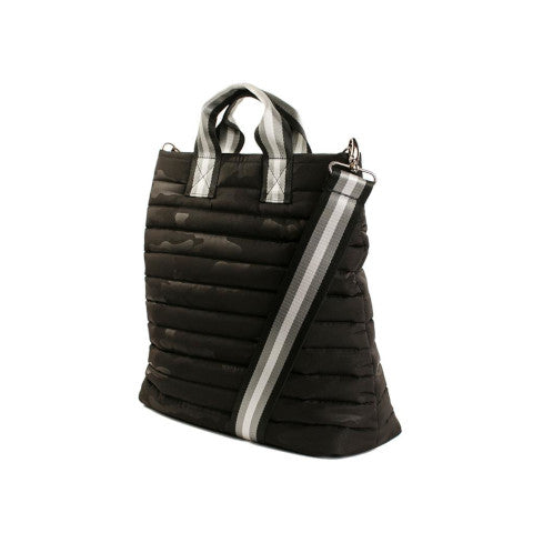 Think Royln Editor Bag in Black Camo