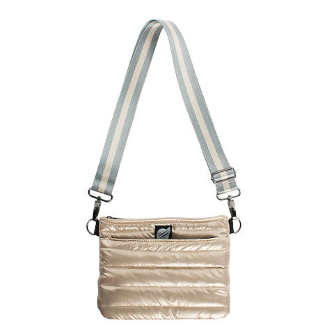 Think Royln Bum Bag Cross Body in Pearl Gold