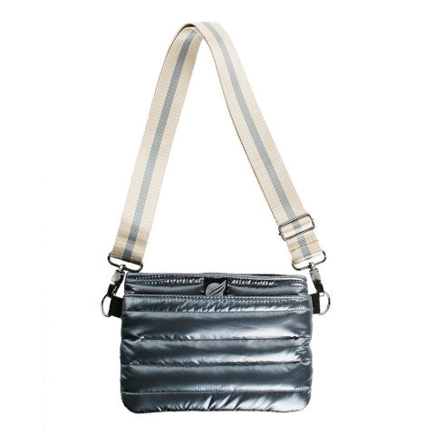 Think Royln Bum Bag Cross Body in Pearl Grey