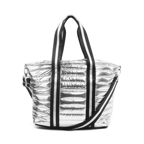 Think Royln Junior Wingman Bag in Queen Silver