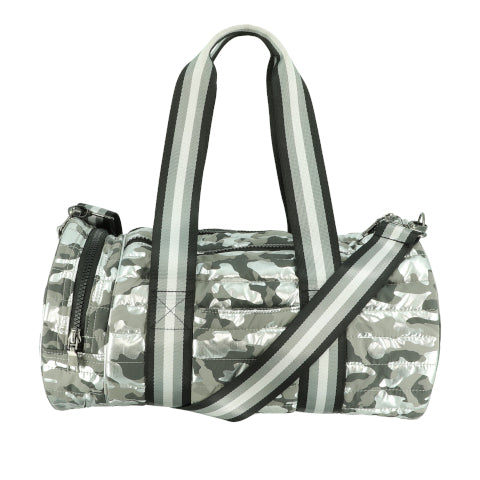 Think Royln Duffle Bag in Shiny Camo