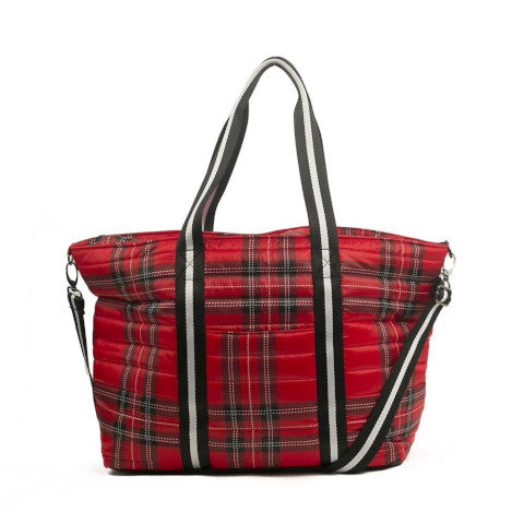 Think Royln Wingman Bag in Soho Plaid