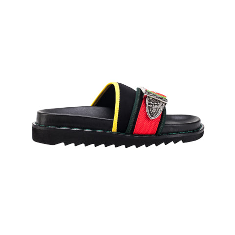 Toga Pulla Black Slide with Buckle