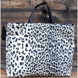 Totem Salvaged Leopard Print Tote