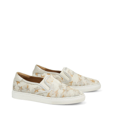 Trask Lillian Bone Camo Metallic Sneaker