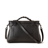 Mulberry Oversized Alexa Black Matte Hardware Pumpz